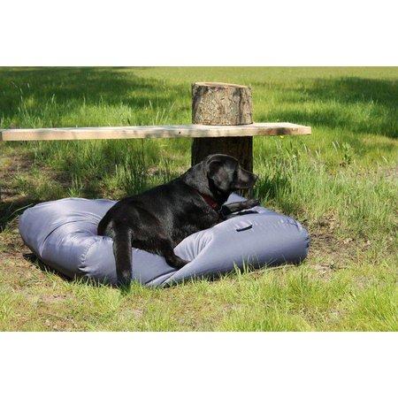 Dog's Companion® Lit pour chien Gris Acier (coating) Superlarge