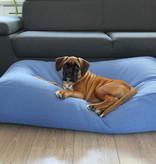 Dog's Companion® Lit pour chien Manhattan bleu lin Small