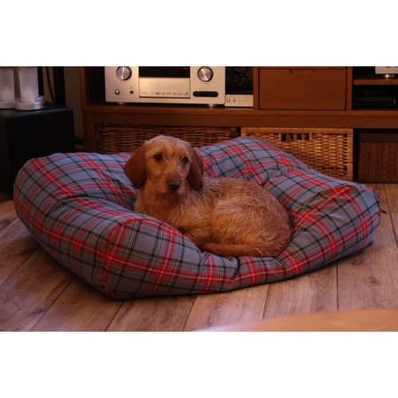 Dog's Companion® Lit pour chien Scottish Grey Large