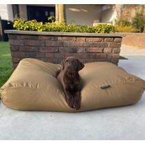 Lit pour chien khaki (coating)