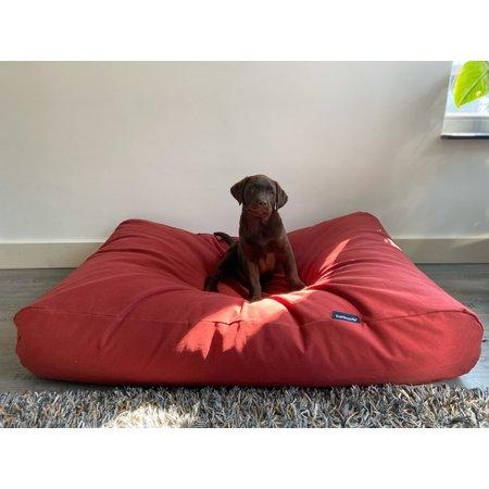 Dog's Companion® Lit pour chien Rouge Brique Superlarge