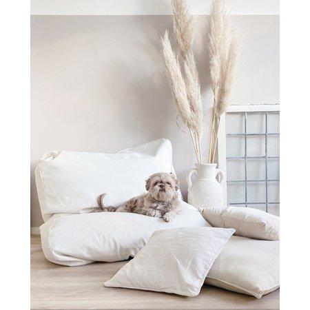 Dog's Companion® Lit pour chien Ivory leather look Large