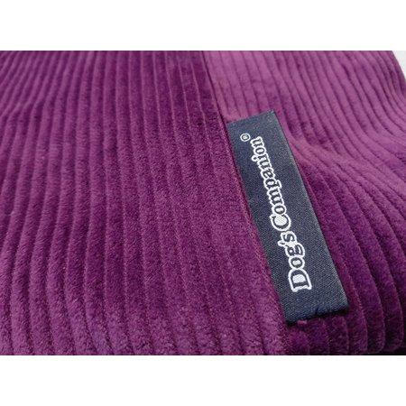 Dog's Companion® Housse supplémentaire Violet (corduroy) Small
