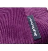 Dog's Companion® Housse supplémentaire Violet (corduroy) Medium