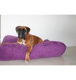 Dog's Companion® Lit pour chien Violet (corduroy) Large