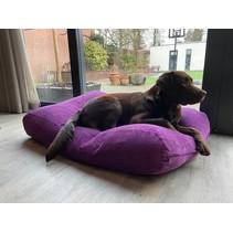 Lit pour chien Violet (corduroy) Superlarge