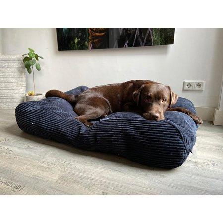 Dog's Companion® Lit pour chien Midnight Blue giant corduroy
