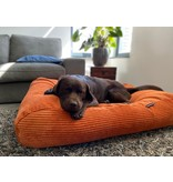 Dog's Companion® Lit pour chien Orange giant corduroy