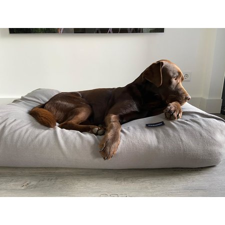 Dog's Companion® Housse supplémentaire Stone grey lin look