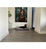 Dog's Companion® Lit pour chien Stone grey lin look