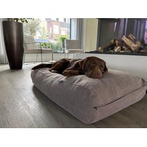 Lit pour chien Stone washed brown