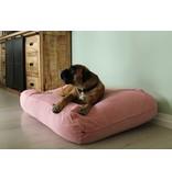 Dog's Companion® Lit pour chien vieux rose corduroy