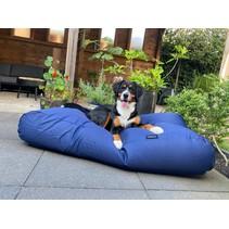 Lit pour chien Bleu Marine (coating) Superlarge
