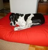 Dog's Companion® Lit pour chien Rouge Medium