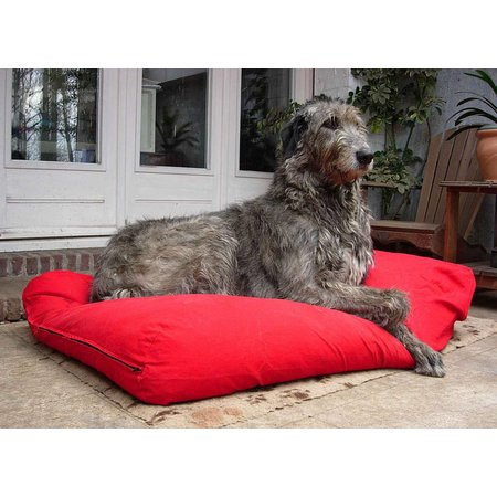 Dog's Companion® Lit pour chien Rouge Superlarge