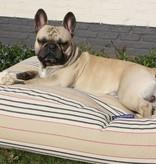 Dog's Companion® Lit pour chien Country Field (rayé) Medium