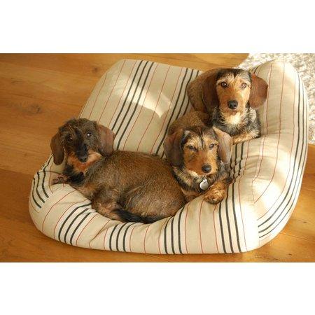 Dog's Companion® Lit pour chien Country Field (rayé) Superlarge