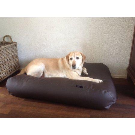 Dog's Companion® Lit pour chien chocolat leather look Superlarge