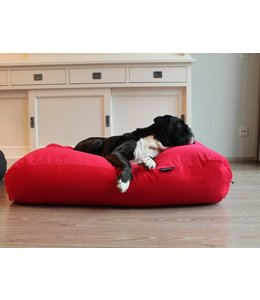 Dog's Companion Hondenbed Rood Ribcord Extra Small