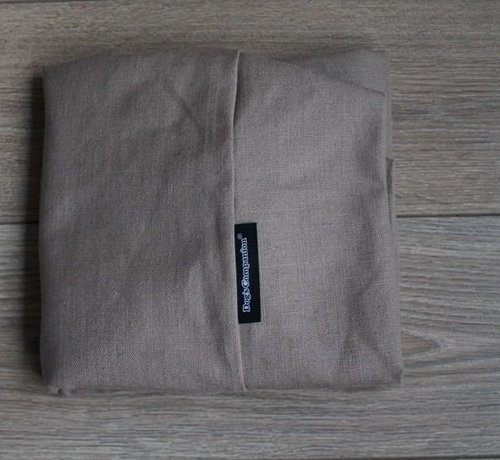 Dog's Companion Extra cover Walnut Linen Small