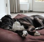 Dog's Companion Hondenbed Mokka Ribcord Extra Small