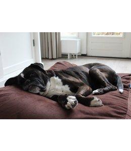 Dog's Companion Hundebett Mokka (Cord) Extra Small