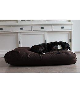Dog's Companion Dog bed Chocolate Brown Cotton Medium