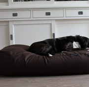 Dog's Companion Dog bed Chocolate Brown Cotton Large