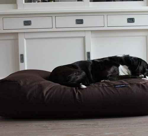 Dog's Companion Dog bed Chocolate Brown Cotton Superlarge