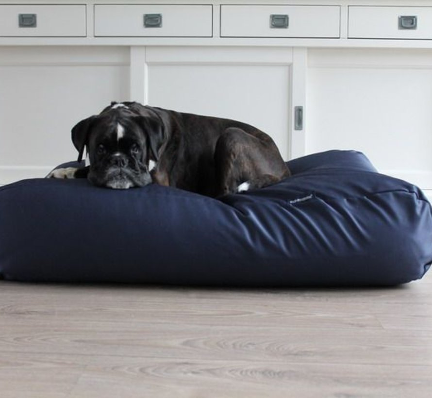 Lit pour chien Bleu Marine (coating) Extra Small