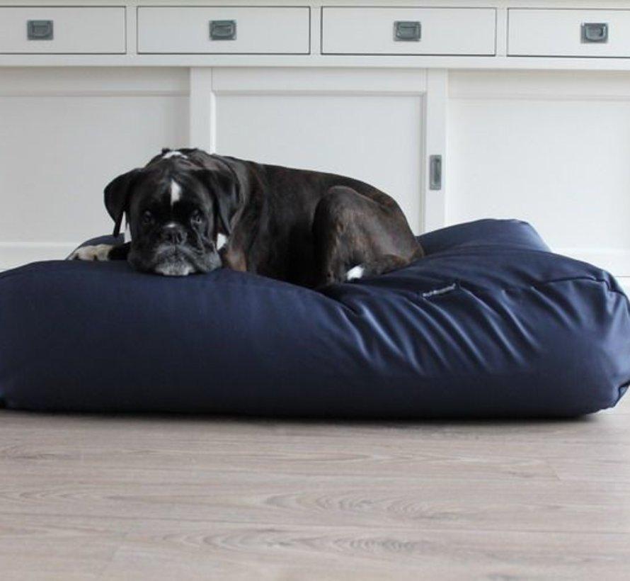 Lit pour chien Bleu Marine (coating) Small