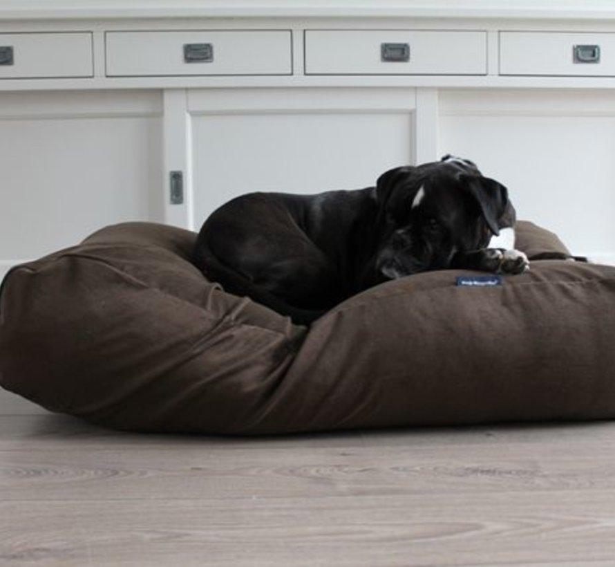 Lit pour chien brun naturel (corduroy) Extra Small