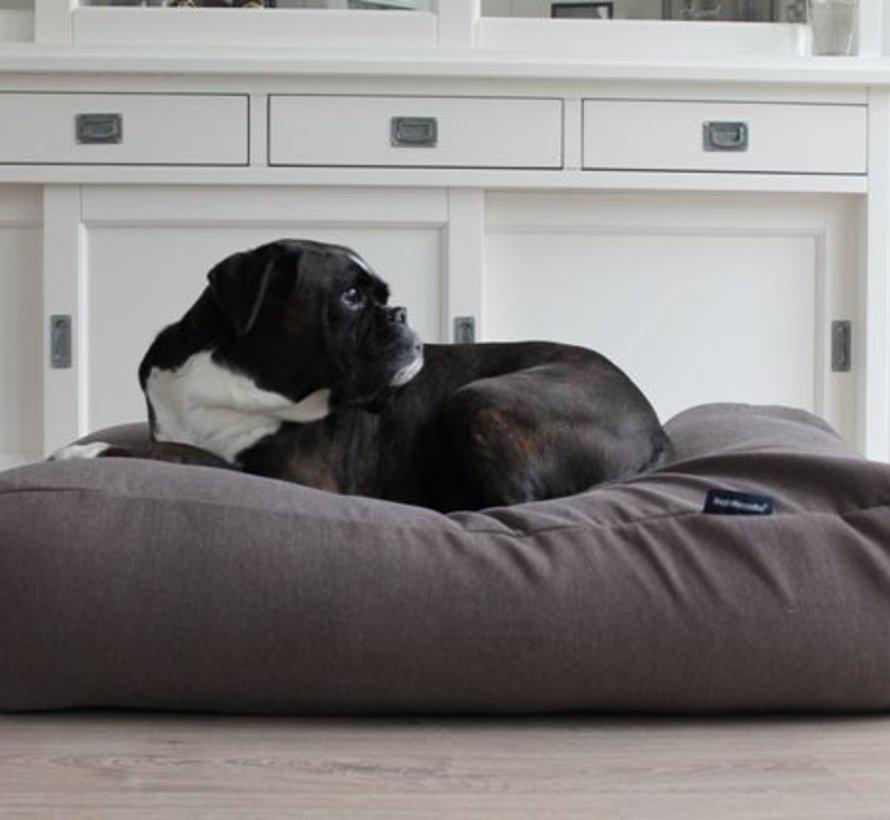 Hondenbed taupe (meubelstof)