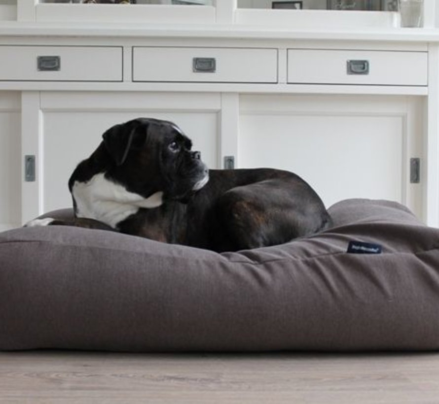 Hondenbed Extra Small Taupe (meubelstof)