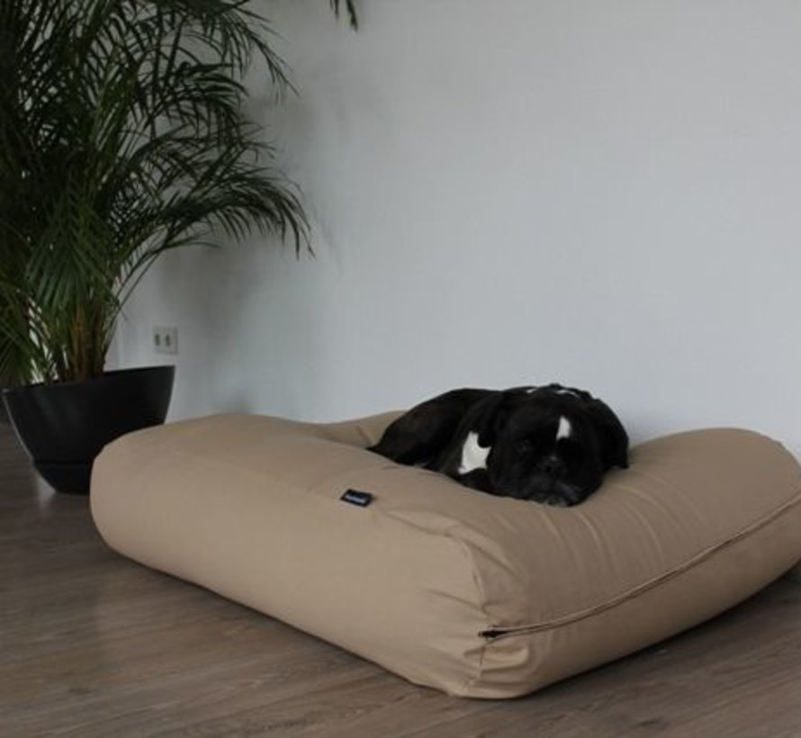 Dog bed Beige Cotton Extra Small