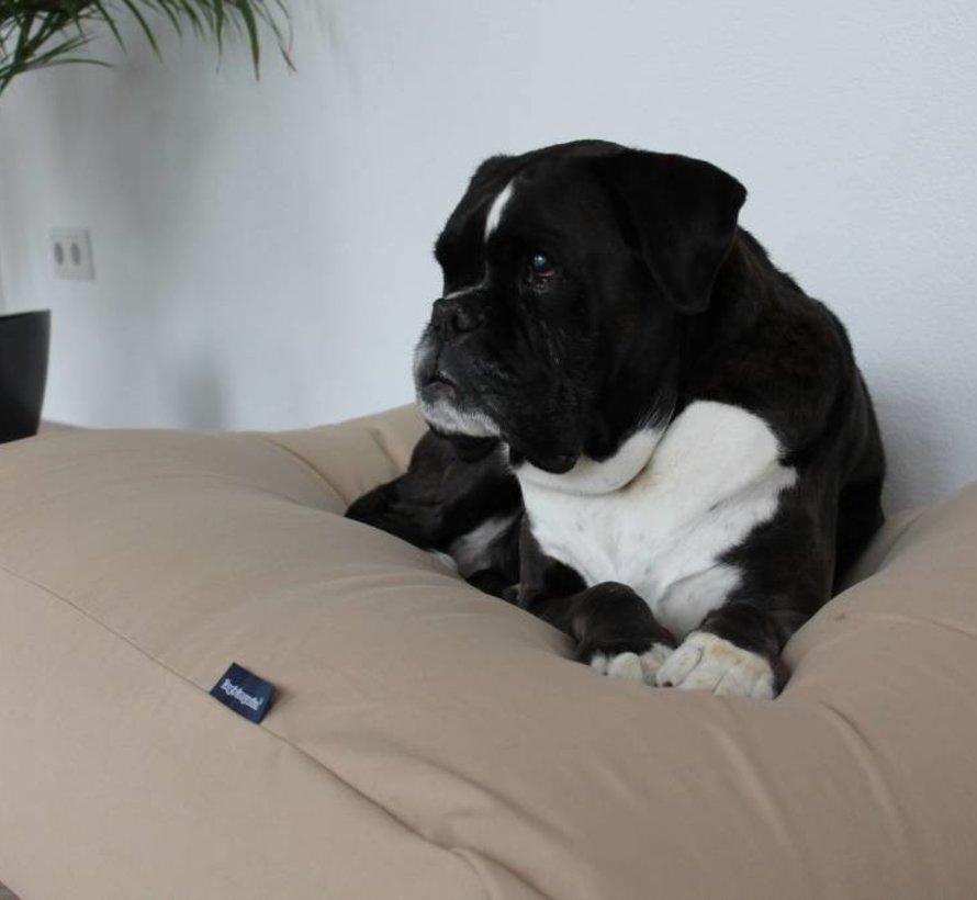 Lit pour chien Beige Coton Extra Small