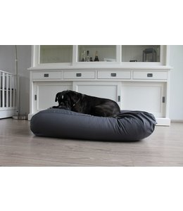 Dog's Companion Dog bed Granite Grey Cotton