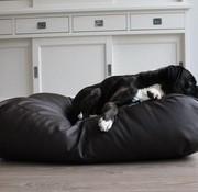 Dog's Companion Hundebett schokolade braun leather look Small