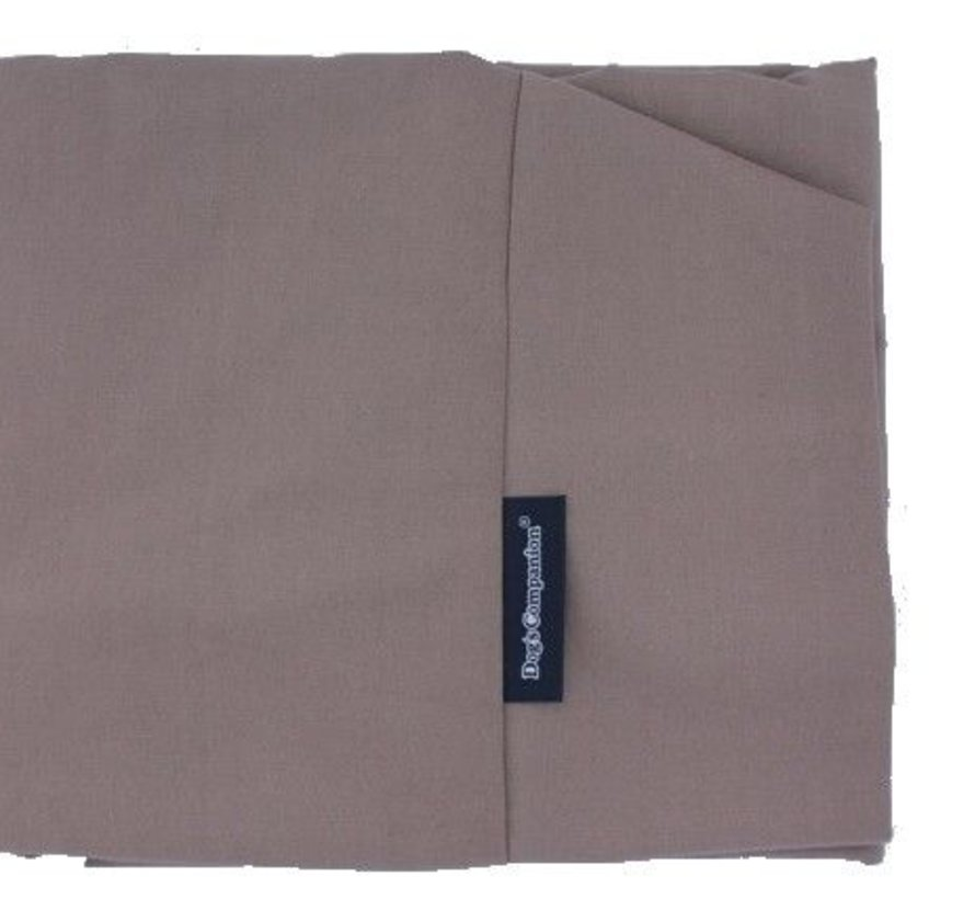 Dog bed Taupe Cotton Extra Small