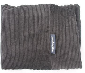 Dog's Companion Extra cover Black (Corduroy) Large