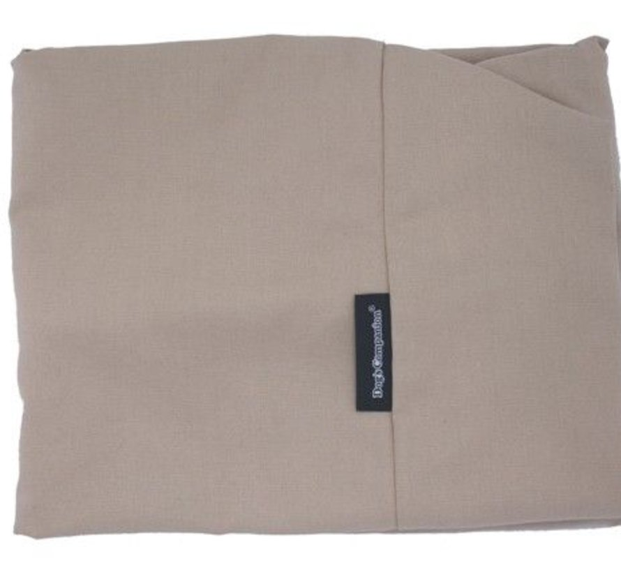 Losse hoes beige katoen Extra Small