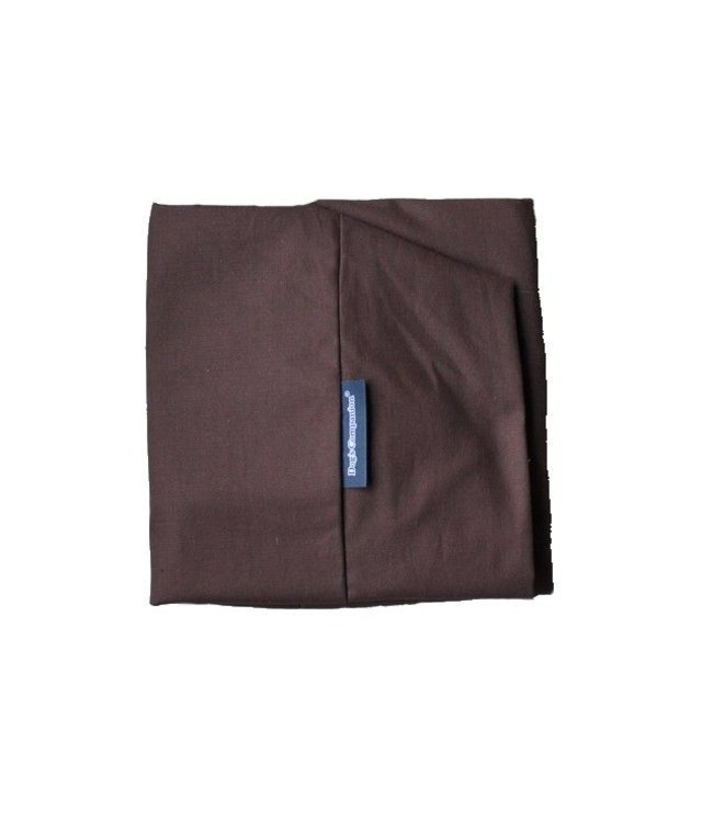 Dog's Companion Extra cover Chocolate Brown Cotton