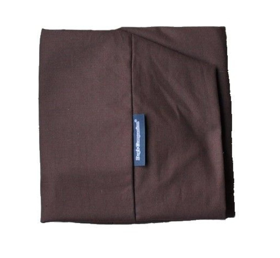 Dog bed Chocolate Brown Cotton Extra Small