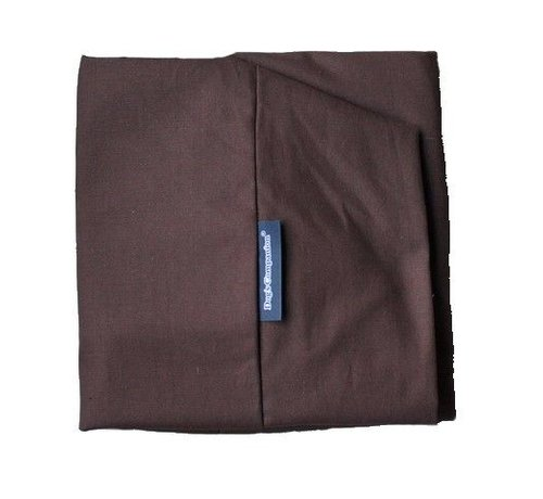 Dog's Companion Extra cover Chocolate Brown Cotton Extra Small