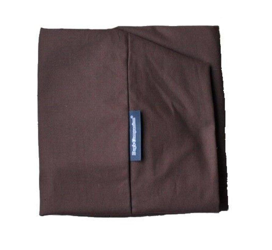 Bezug Schokolade Braun Baumwolle Extra Small