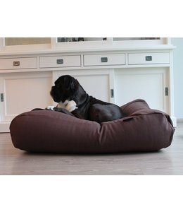 Dog's Companion Hondenbed chocolade bruin (meubelstof)