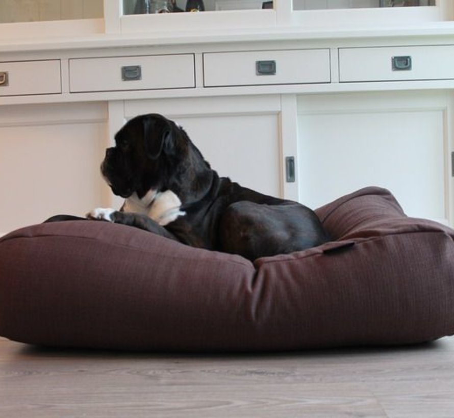 Dog bed Chocolate Brown (upholstery)