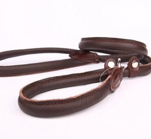 Leather retriever line (double stop)