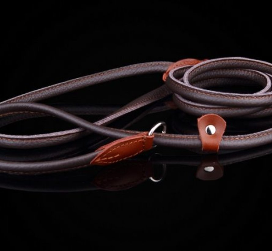 Leather retriever linesingle stop