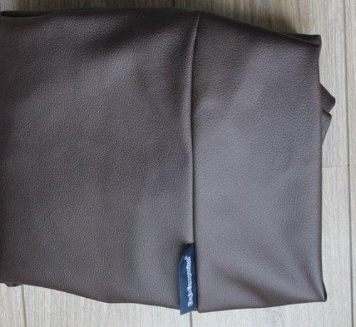 Dog's Companion Bezug schokolade braun leather look Large
